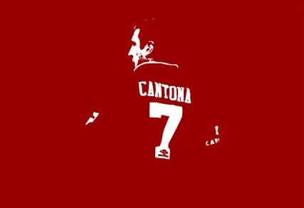 Eric Cantona canvas art pop art print