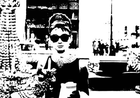 Audrey Hepburn canvas art pop