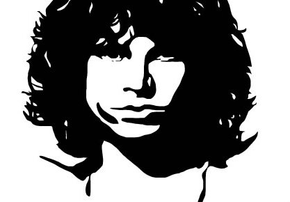 Jim Morrison The Doors Stencil Jim morrison the doors canvasThe Doors Stencil