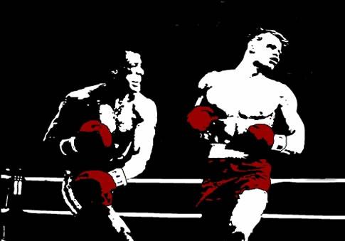 Rocky Canvas Art Pop Art Print
