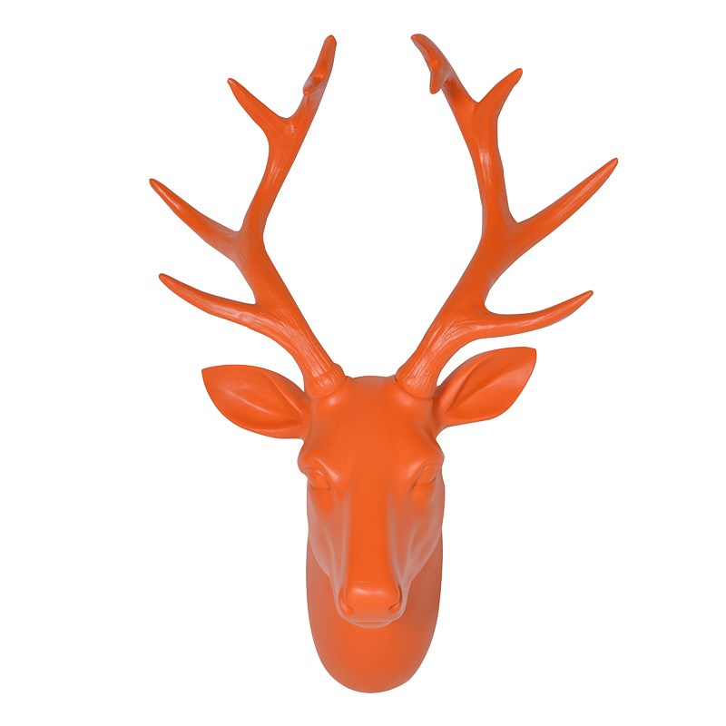 Orange Deers Head