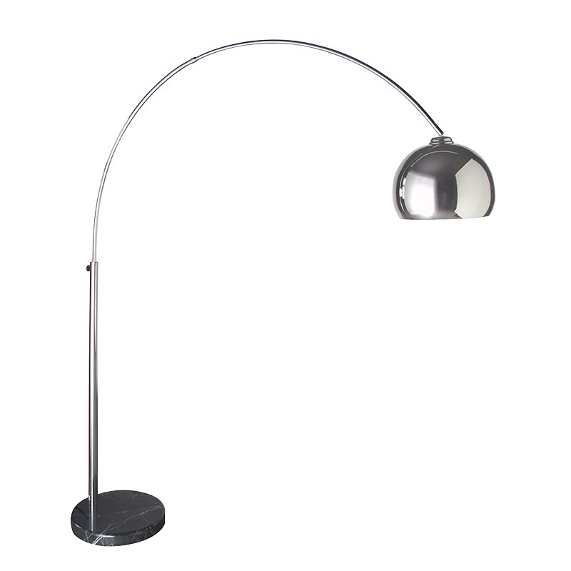 Arco  Chrome style Floor Standing Lamp